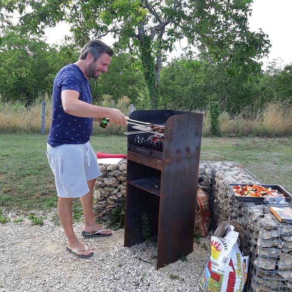 BBQ camping Place de la Famille