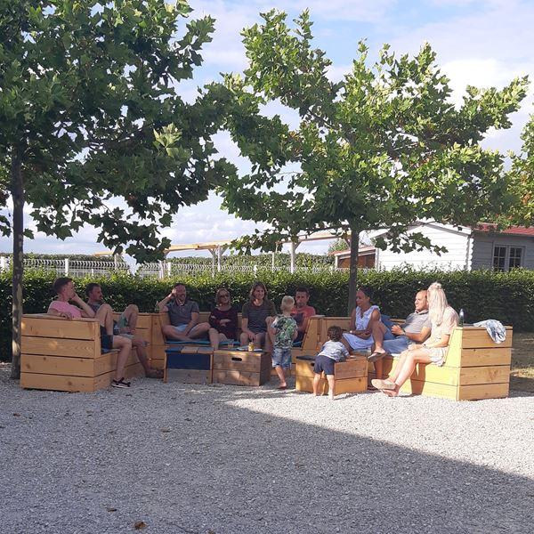 Lounge camping Place de la Famille